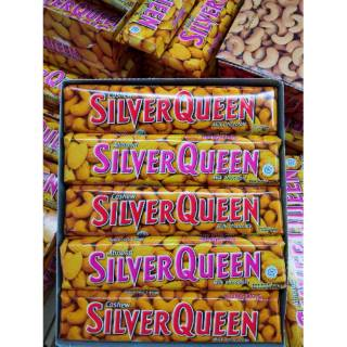 Silver Queen Chocolate 65gr Exp Jan 2021 ( Mede / Cashew , Almond)
