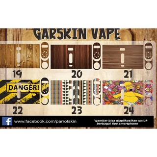 SO529# Garskin / Skin Wismec rx 2/3 rx2/3 termurahhh SO529#