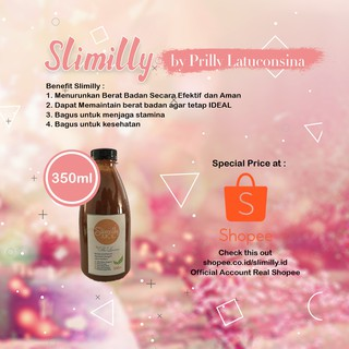SLIMILLY JUICE 350ML BY PRILLY LATUCONSINA