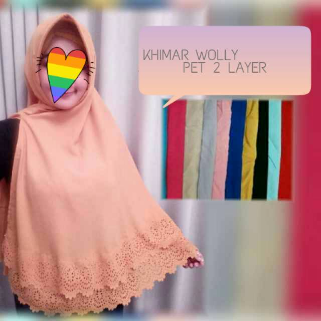 KHIMAR WOLLY 2 LAYER