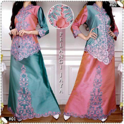 SPECIAL setelan abaya mendes/kebaya modern