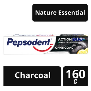 Pepsodent Action 123 Toothpaste Pasta Gigi Charcoal 160G