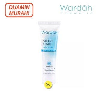 Wardah Perfect Bright Moisturizer Normal Skin 20ml Krim Pelembab