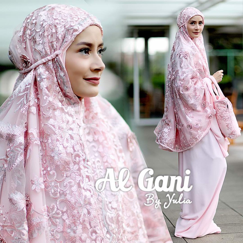 Special Edition Special Edition Mukena Arsy Ivory Al Ghani Original Terbaik!