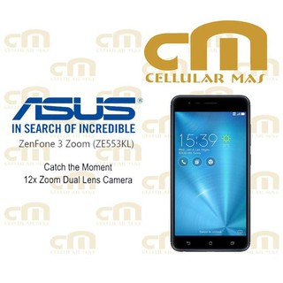 [56][2] Asus Zenfone 3 Zoom ZE553KL RAM 4GB INTERNAL 64GB GARANSI RESMI ASUS handphone / tablet / hp