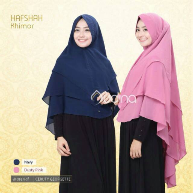 Jilbab instan murah hijab polos khimar ceruty double layer bergo pet antem exlusive pasmina terbaru