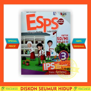 ESPS : IPS SD KELAS 3 KURIKULUM 2013 *NEW