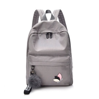 Tas Ransel Backpack Fashion Homme Femme sweet Tanpa POM POM