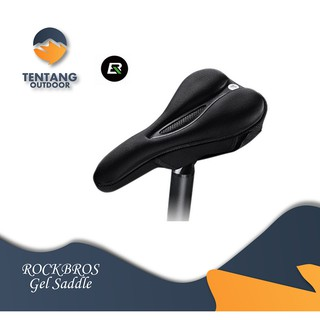 Gel Saddle Sepeda ROCKBROS Cover GEL Sponge Parts Selle Velo MTB