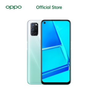 OPPO A52 6GB/128GB White [Fast Charging 18W,5000 mAh,Snapdragon 665,AI Quad Camera]