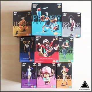 Ichiban Figure One Piece Stampede The Movie Set (New) (Misb) _
