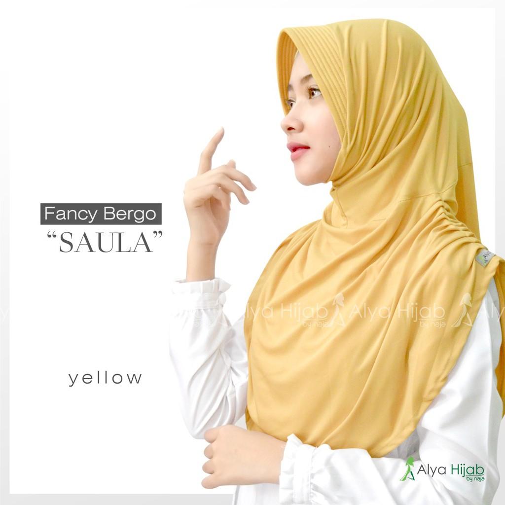 Bergo Saula Yellow
