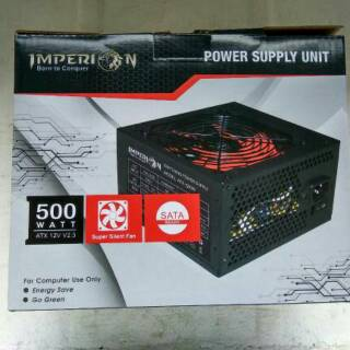 Power Suplay(PSU)Gaming Imperion 500w