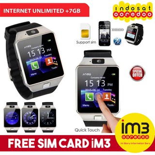 Cognos DZ09 ALPHA U9 Smart Watch FREE SIM CARD Smartwatch Sim Card 2G