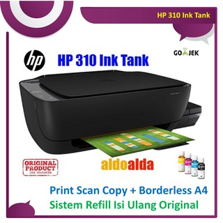 HP 310 Ink Tank Print Scan Copy