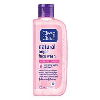 Clean And Clear Natural Bright Face Wash 100ml JB038