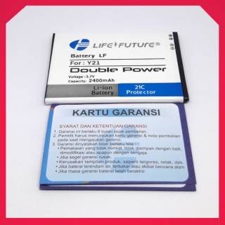 BATERAI BATERAY BATRE BATTERY VIVO Y21 Y15 Y22 DOBEL POWER LF MURAH BERGARANSI