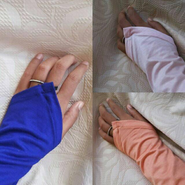 handsock/manset tangan/kaos tangan Ring Plain Rayon