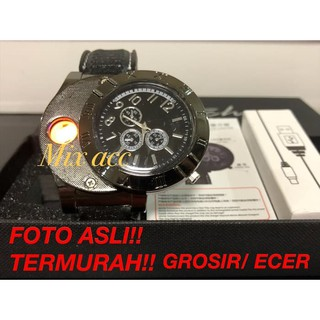Jam Tangan Korek Elektrik The Lighter Watch Premium jam korek elektrik