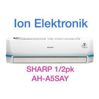 Hot Ac Sharp 1 2 Pk Ah A5say Gratis Pemasangan