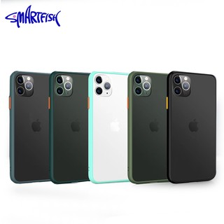 Smartfish Case Casing iphone silikon untuk iphone 7 8 7 plus 8 plus X XR XS Max 11 11Pro 11Pro Max
