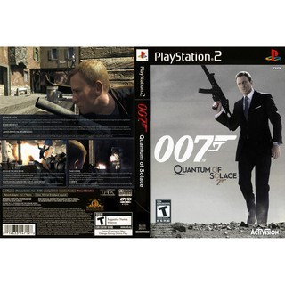 DVD Game PS2 007 Quantum of Solace