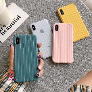 Casing Soft Case Vivo Y91 Y91C Y93 V11 V15 Y71 Y81 Y65 V5 lite  V9 Candy Color Soft TPU Luggage Case