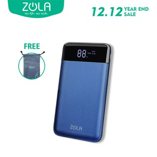 ZOLA Venus Powerbank 10000mAh Smart LED Display Fast Charging 2.1A