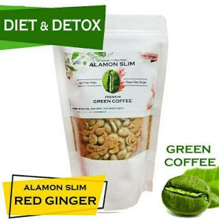 Green Coffee 21x Minum - Alamon SLIM - Herbal Pelangsing