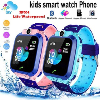 Dennos Q12 Q12B Kids Smart Watch IMOO W23 W33  Anak Bluetooth SOS LBS