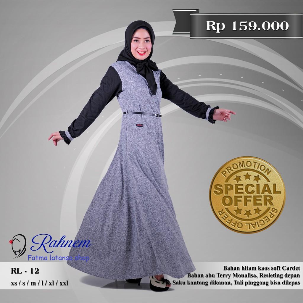 GR2270 Gamis Syari Terbaru 2017 Murah Wanita Baju Murah Hijab Baju Pesta Gamis Balotelli Gamis Polos