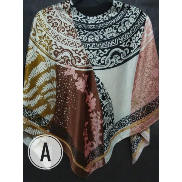 Jilbab segiempat motif lamiz