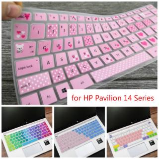 14Inch Laptop Keyboard Cover Protector for HP Pavilion 14 Series Notebook Skin 14q-cs0001TX I5-8250U