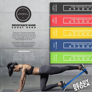Resistance Band Loop for Booty & Arm Workouts | Gym - Fitness - Yoga - Pilates | Karet Elastis