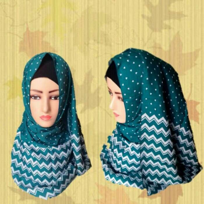 Diskon 40% Hijab Pashmina Monocombi Original