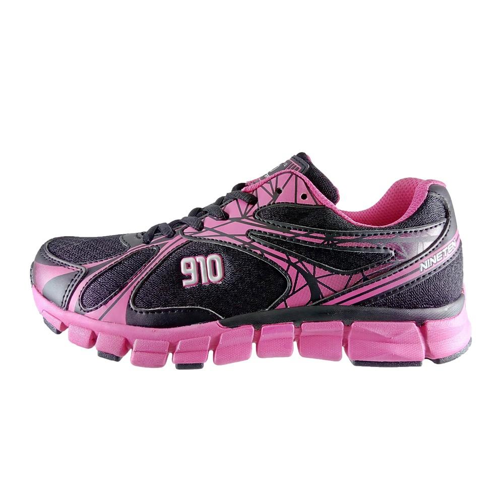 910 KENJIRO 1.5 Hitam/Pink-Tua/Perak