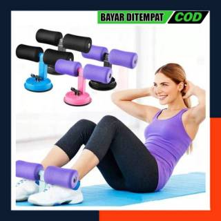 [Original] ALAT SIT UP Stand Speed Peralatan Sit Up Bench Pengecil Latihan Perut Portable - Alat Gym