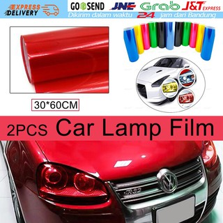 Headlight Film Lamp Lampu Depan Film Warna Warni 3 Lapisan Lampu Mobil Film Headlight Tint Vinyl