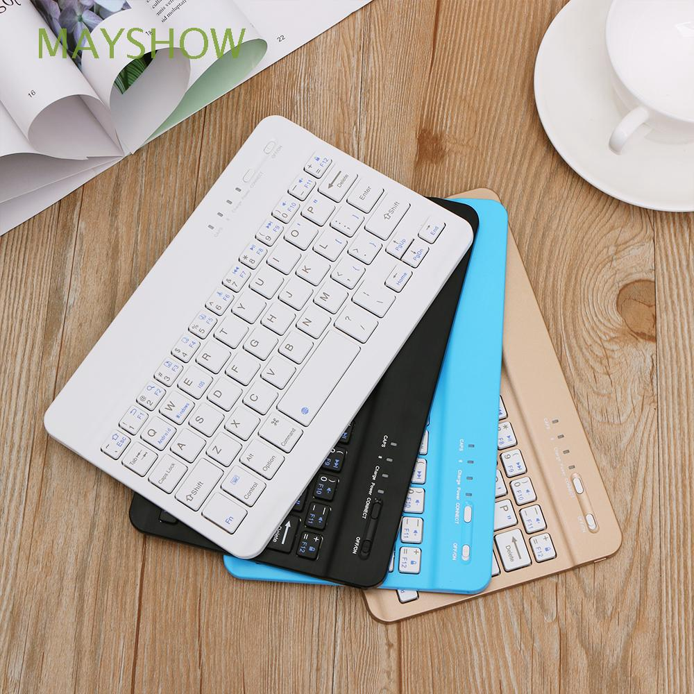 Keyboard Wireless Bluetooth Slim Portable untuk Tablet / PC / Laptop