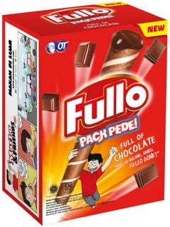 Fullo Chocolate 24x8gr