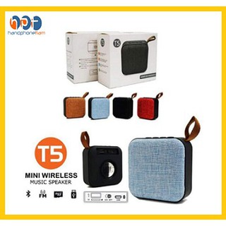 Speaker Bluetooth Mini JBL T5 Wireless Speaker Portable Music JBL