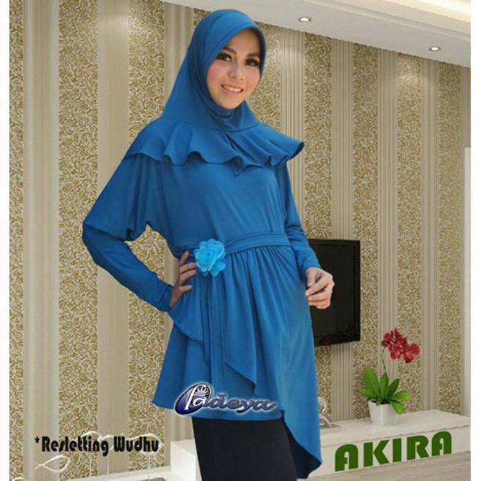 Promo Premium Mode Hijab Jilbab Original Fadeya Tunik Akira Aa269 Berkualitas