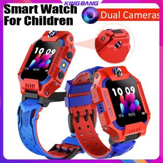 Z6 Smartwatch Dual Camera SIM Card GPS Anti Air untuk Android / iOS