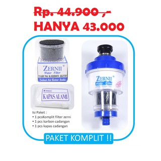 PAKET KOMPLIT ( ZERNII FILTER AIR) 3IN1