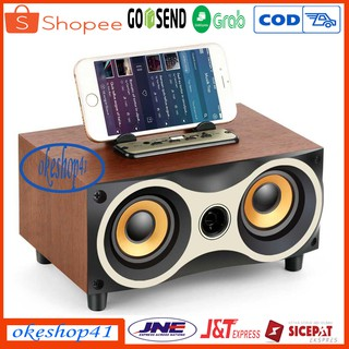 Speaker Portabel Bluetooth FLECO F-6 BT FM Radio USB Super Bass