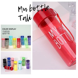 MY BOTTLE TALI 1 KG isi 10 PCS BENING WARNA TERMURAH / Botol My Bottle 500 ML Tali