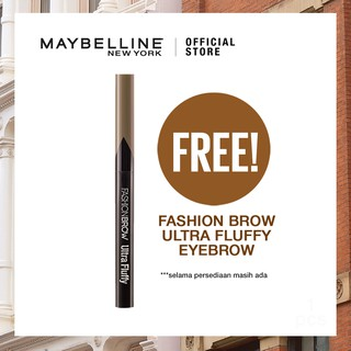 [FREE] Maybelline Brow Ultra Fluffy - BR4