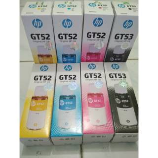 Tinta hp gt 52 colour gt 53 Black ORIGINAL