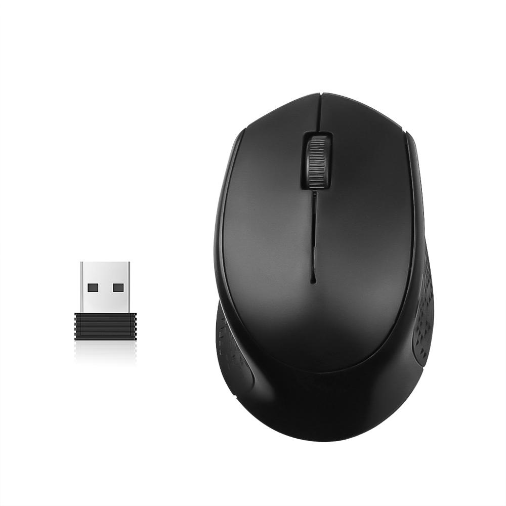 M280 Mouse Wireless Optical 1600DPI 2.4GHz Desain Ergonomik dengan Receiver USB