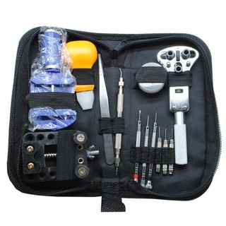 Perkakas Reparasi Jam Tangan 13 in 1 Tools Kit